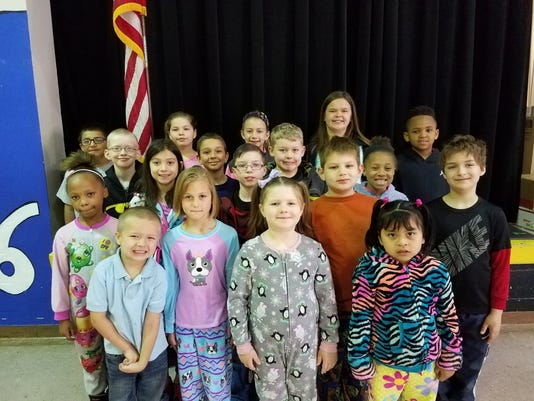 Jefferson Elementary April leaders of the month