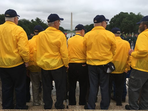 Never Forgotten Honor Flight roster announced for May 21 trip