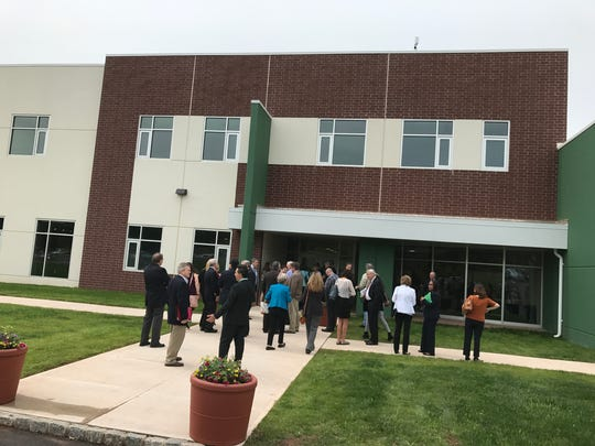 The Workforce Training Center  officially opened May 23 at Raritan Valley Community College in Branchburg.