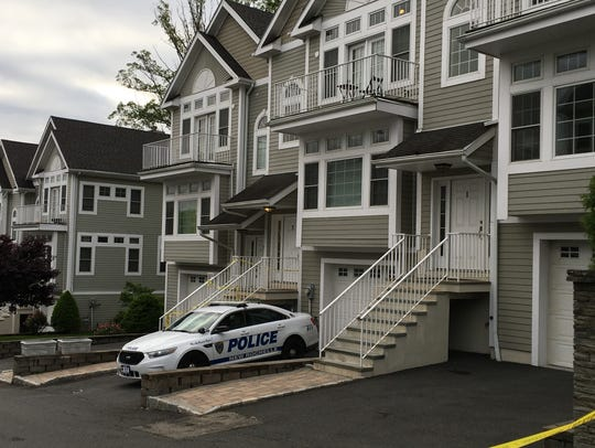 New Rochelle police have taped off 3 Arbor Glen, where