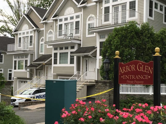 New Rochelle police tape off 3 Arbor Glen, where 7-year-old