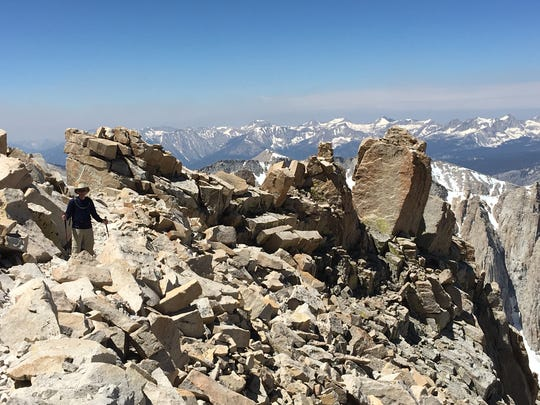 Mount Whitney was a peak on 72-year-old Zander Blewett's bucket list. He reached the summit with his sons on July 15, 2017.