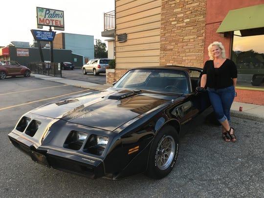 Leslie Briggs of Livonia owns her dream car, an all-original