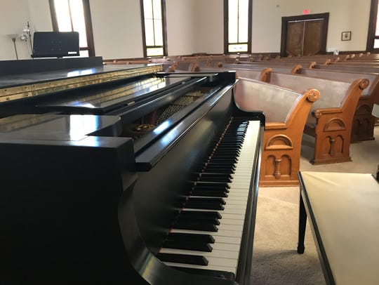 Kirk Mariner willed his Yamaha C3 grand piano to Historic