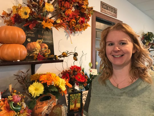 Casey Rowe, owner of Nekoosa Floral & Gifts and Wisconsin