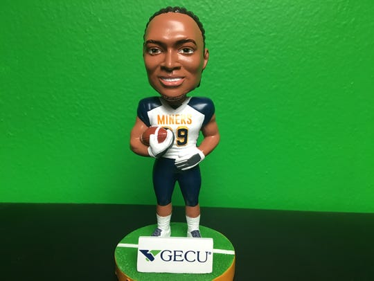 UTEP will give away this Aaron Jones bobblehead on