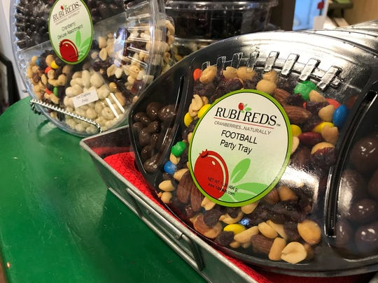 Trail mix at Rubi Reds