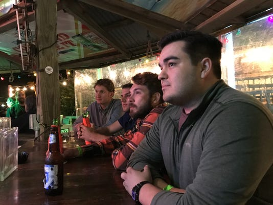 Port Aransas World Series watchers