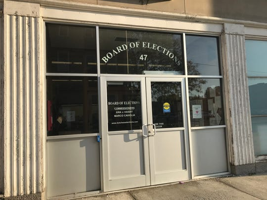 The Dutchess County Board of Elections on 47 Cannon