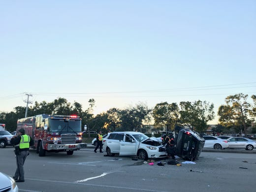 Traffic tieups at busy Immokalee Road and U S  41 after