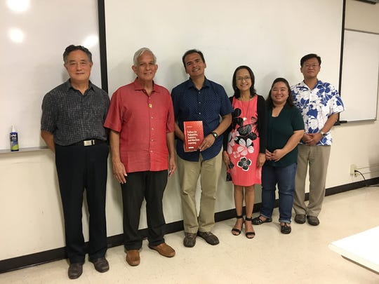 "In July, Dr. Unpingco presented his book, ""Python For"