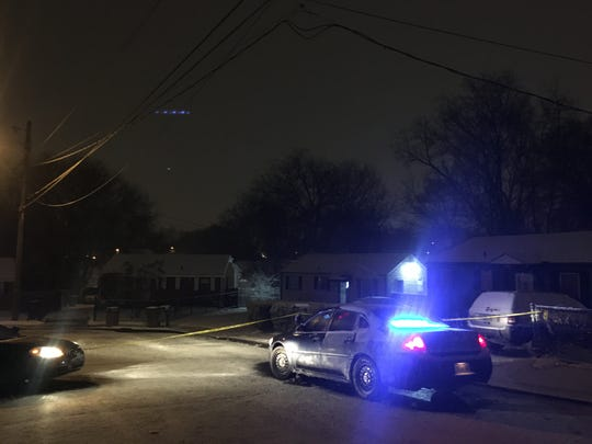 Police were on the scene of a reported shooting in