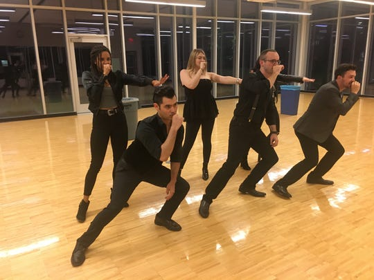 ASU Law Cappella rehearses at the downtown Phoenix