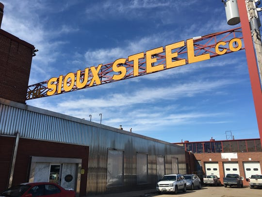 Sioux Steel's facilities in Sioux Falls. The company