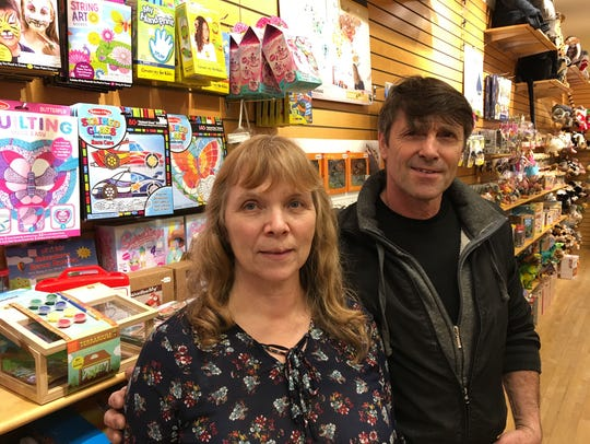Mary and Lee Raiche, owners of Kidstructive Fun in