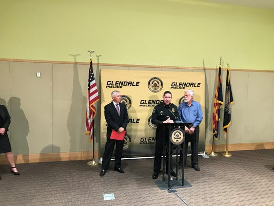 Glendale PD SRO Press Conference