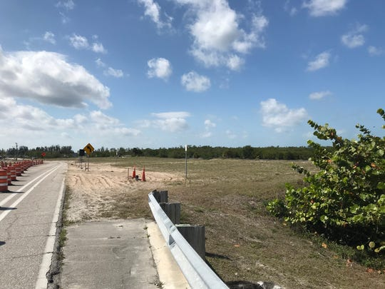A section of land just north of Sirenia Vista park in northwest Cape Coral where Maija Gadient wants the manateeum constructed. The land, including the park, is a little more than 10 acres.