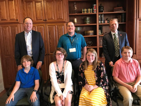 Students serving as Elected officials Mountain Home