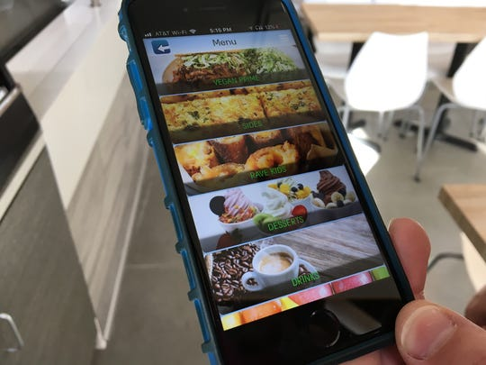 Rave Organics Cafe is developing an app for online orders. It should be ready to launch by the end of April, said Matthew Schroeder, a first-time restaurateur who is leading a group of partners in launching the fast-casual spot.