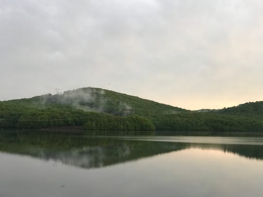 Monksville Reservoir in Ringwood on Tuesday, May 15, 2018.
