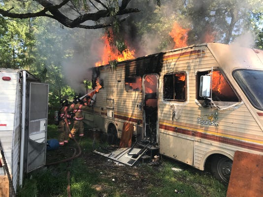 Dallas mobile home fire