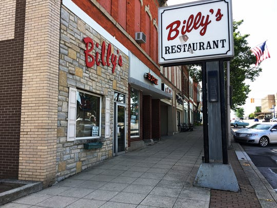 Billy's Restaurant on W. State St. in Fremont.