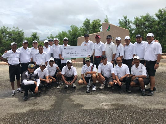 Eagles Golf Club donated $3,000 this year to the Shriner's