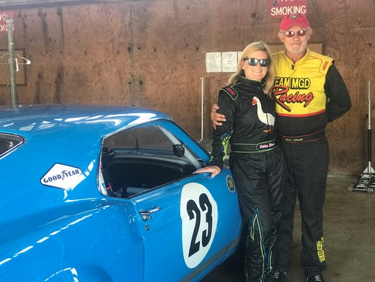 John and Debbie Cloud are a husband and wife racing