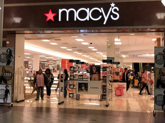 No. 10: Macy's. The department store chain has locations