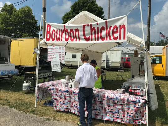 Bill Gray's Bourbon Chicken stand makes its Crawford