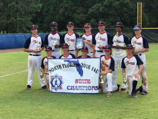 Tallahassee-Leon Babe Ruth's 14U all-star team captured