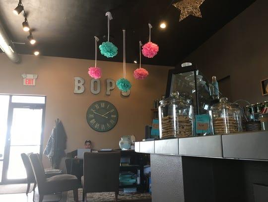 The interior of Bop's Bistro in De Pere.