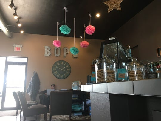 The interior of Bop's Bistro in De Pere.