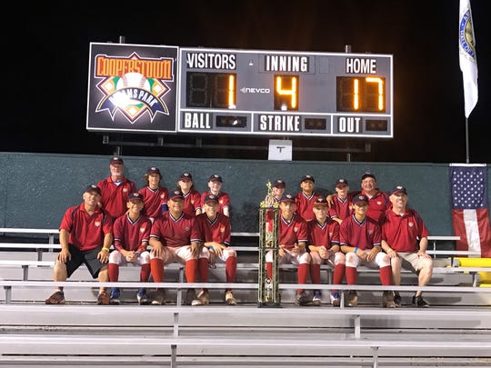 The Motor City Hitdogs pose with their championship