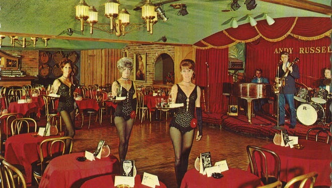 The French Quarter was a nightclub in Scottsdale's old Safari Hotel. The image for this vintage postcard was taken sometime during the 1960s.
