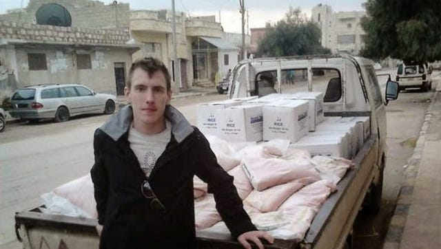 American aid worker and former Army Ranger Peter Kassig