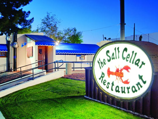 Salt Cellar near Hayden Road and Mckellips Street in Scottsdale.