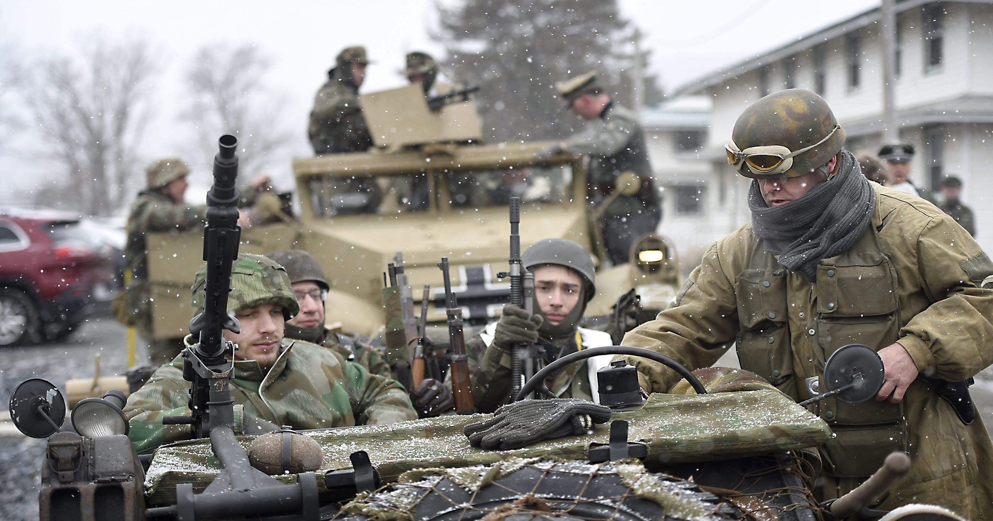 One injured in mortar accident at Battle of the Bulge reenactment