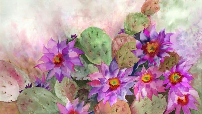 """""""Cactus Garden"""" by Neela Pushparaj."""