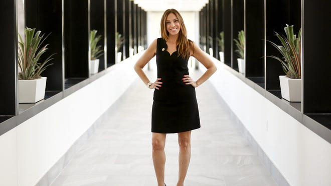 Michelle Suskauer in 2018 as president of the Florida Bar.