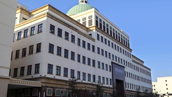 The West Palm Beach City Hall.