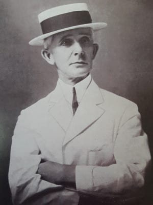 C.F. Baker, a graduate of Michigan State University who went on to serve as dean of the University of the Philippines College of Agriculture from 1917 until his death in 1927. MSU was known as the State Agricultural College during Baker's time as a student.