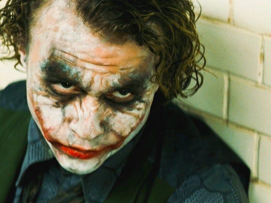 "Heath Ledger as the Joker in ""The Dark Knight"" is perhaps"