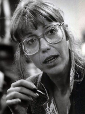 This 1987 photo shows writer and journalist Katherine Dunn.