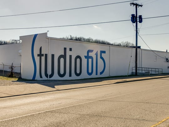 Studio 615, a mixed-use project, is one of many businesses that have embraced the historical area code for Nashville and surrounding area,