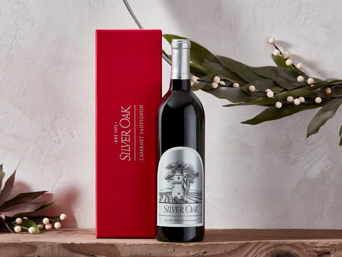Napa Valley's Silver Oak offers a variety of holiday