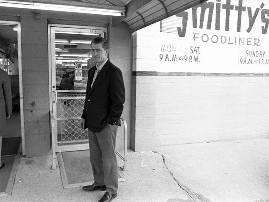 """Jack Nichols, new owner of Smitty's Foodliner, is """"counting"""