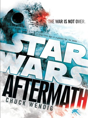 """Chuck Wendig's novel """"Star Wars: Aftermath"""" continues the saga after the events of """"Return of the Jedi."""""""