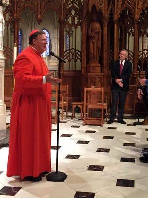 Cardinal Joseph W. Tobin, C.Ss.R., Archbishop of Newark, will be the celebrant.