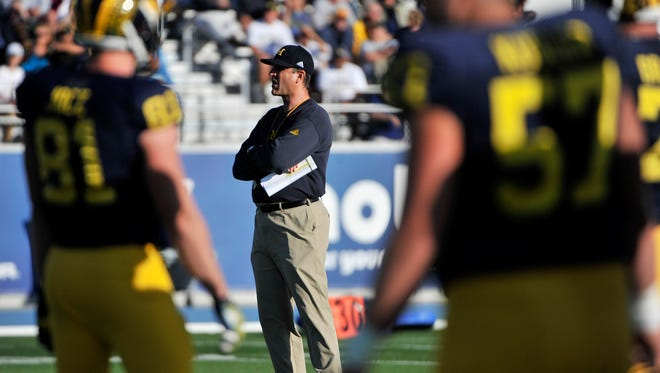Michigan has made a maximum of 10,000 free tickets available for Saturday's open practice at Ford Field.